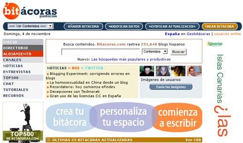 Bitácoras.com