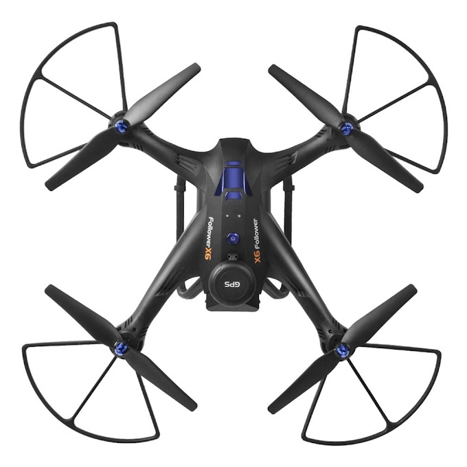 New X183 5.8G Dual GPS RC Quadcopter Drone Aircraft with 2.0MP HD FPV Camera Follow Me Hovering One Key Return