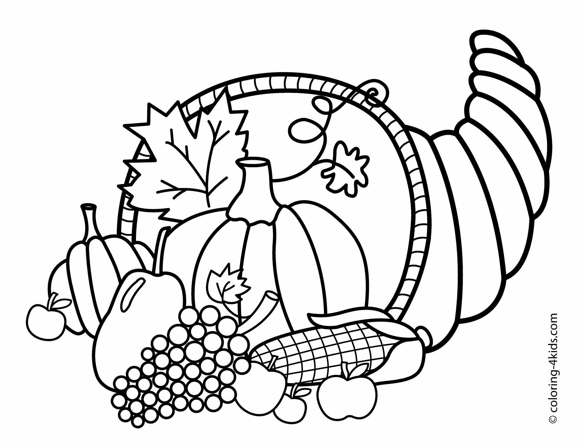 Thanksgiving Coloring Pages For Adults at GetColorings.com ...