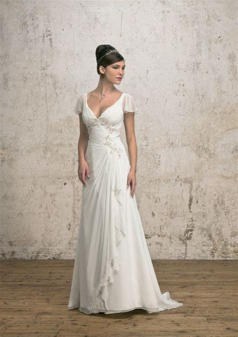 Wedding dress for older bride over 40,50,60   Mature