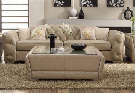 fresh living room ideas  cream leather sofa photograpy