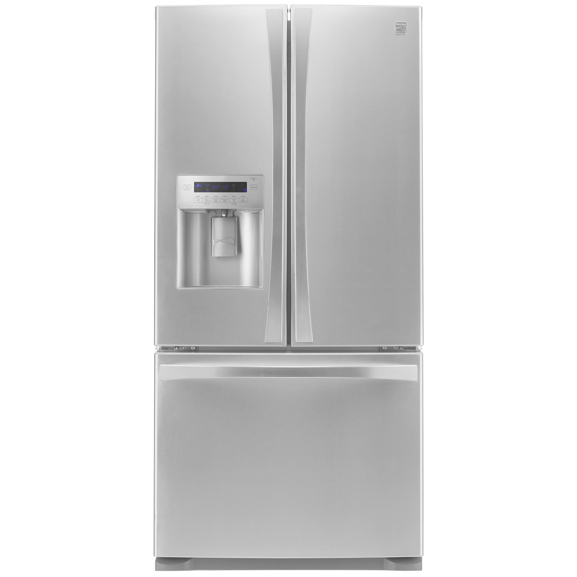 Kenmore Elite 24 2 cu ft French Door Bottom Freezer