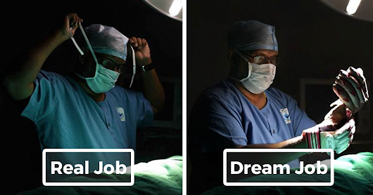 Photo Project Reveals People's Real Jobs Vs. What They Dreamed Of Becoming As Kids