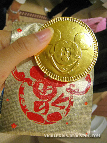 gold mickey coin