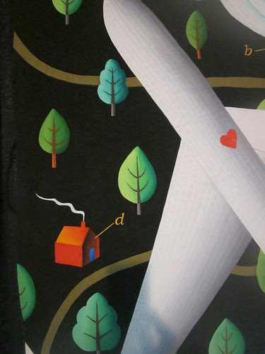 """""""Fear of Flying"""" by Judy Coates Perez, close up"""