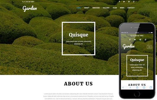 Garden an Agriculture Category Flat Bootstrap Responsive Web Template