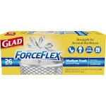 Clorox Glad ForceFlex Quick Tie Trash Bags, 8 Gallon - 26 count