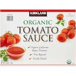 Kirkland Signature Organic Tomato Sauce, 15 oz, 12-count