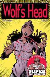 Wolf's Head Issue 9 cover by Von Allan