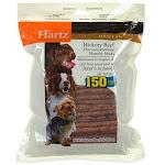 Hartz 150 Pack Dental Hickory Beef Flavored Rawhide Munchy Sticks 96275