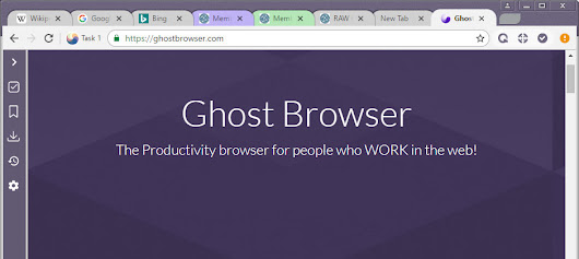 Ghost Browser changes the way you browse the web with unique features