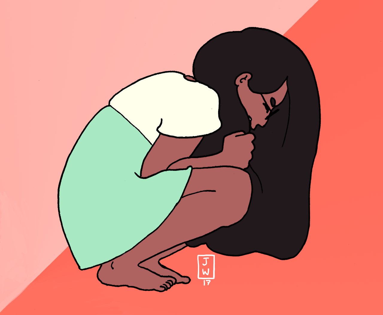 A desperate Connie