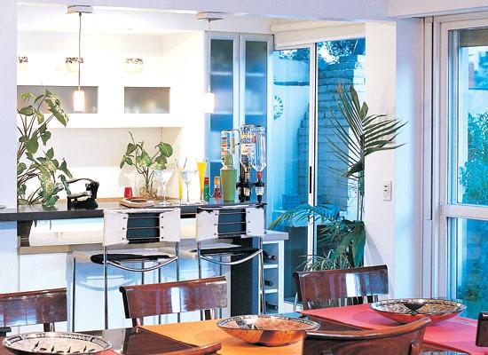 Barras ideas y medidas para tu casa blog y arquitectura for Decoracion cocina americana