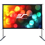 Elite Screens Yard Master 2 Series OMS100H2 Projection Screen with Legs - Silver