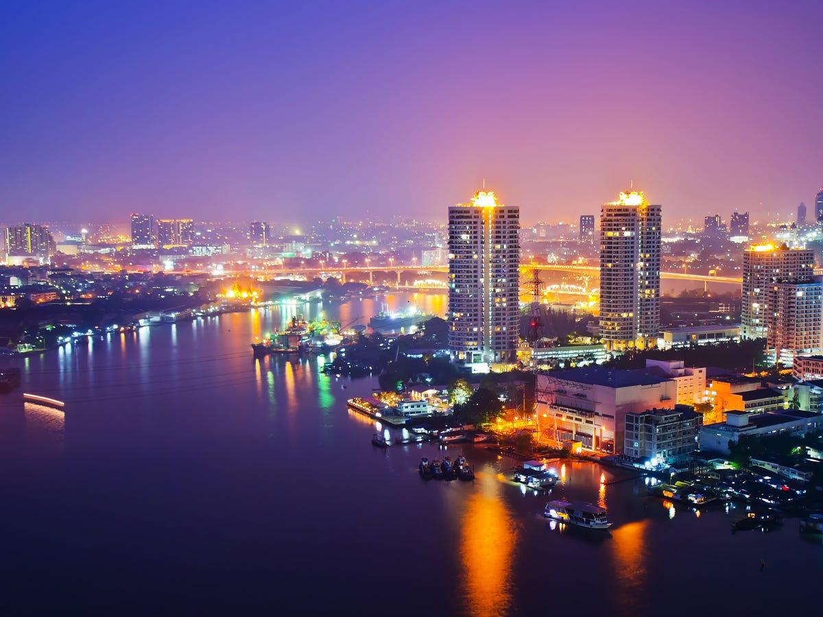 4. Bangkok, Thailand: 16.2 million international visitors
