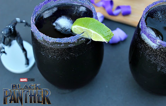 Heart of Wakanda Cocktail – Black Panther Drink