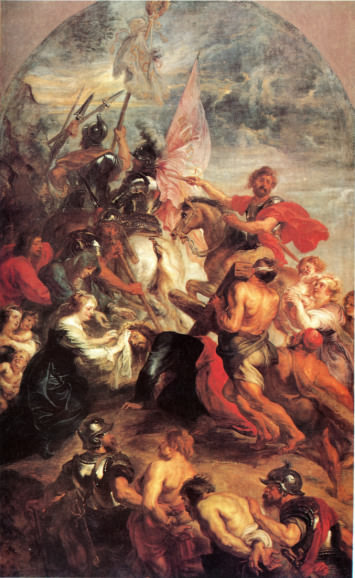 The Way To Calvary by Peter Paul Rubens painted about 1636