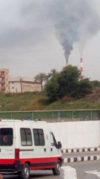 لتلوث الناتج عن محطة كهرباء الوليدية فى أسيوط (2)