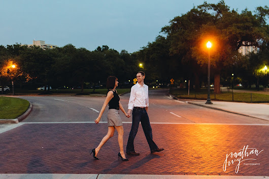 Hermann Park Engagement Photos - Jonathan Ivy