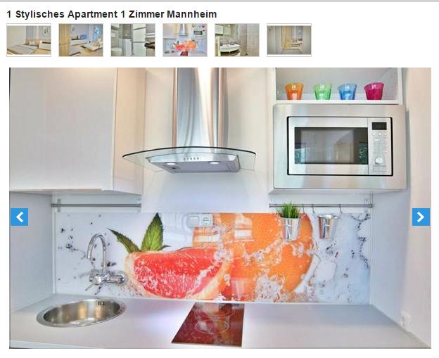 1 stylisches apartment 1 for Zimmer 7 mannheim
