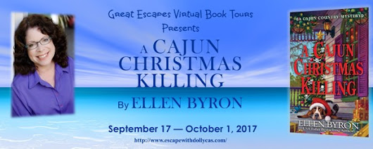 Interview + Review – A Cajun Christmas Killing by Ellen Byron