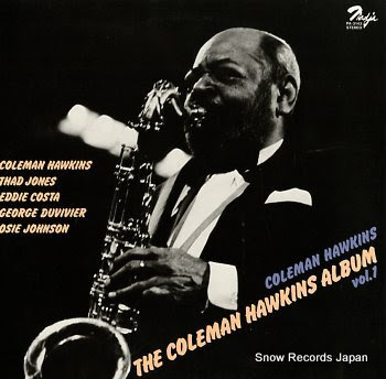 HAWKINS, COLEMAN album vol.1, the