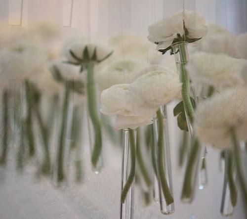 suspended wedding centerpieces