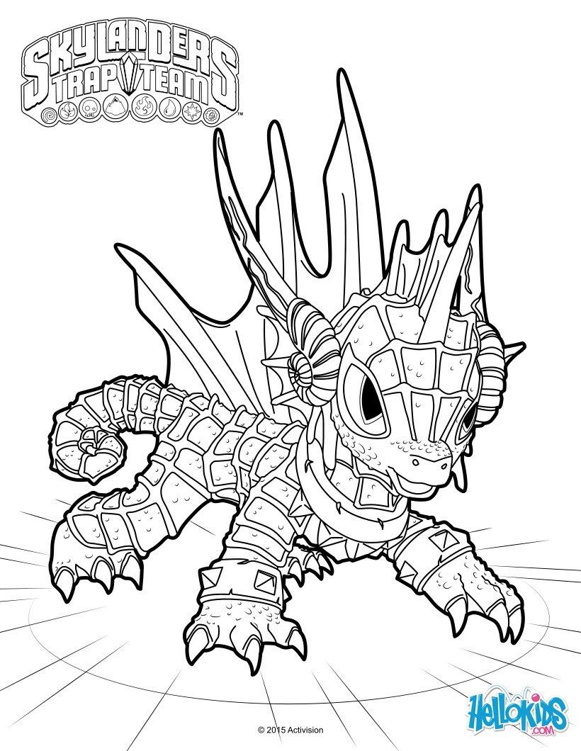 Skylanders Trap Team Coloring Pages 52 Free Online Printables For Kids
