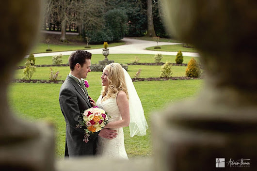 Clearwell Castle wedding photography Gloucestershire.