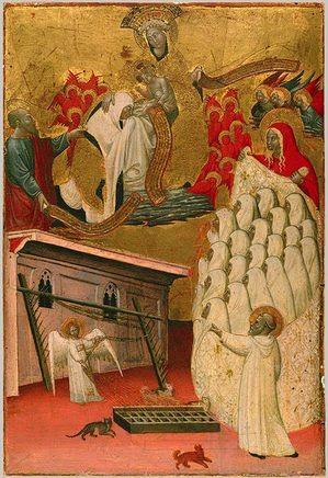 S Francesca Romana Clothed by the Virgin.jpg