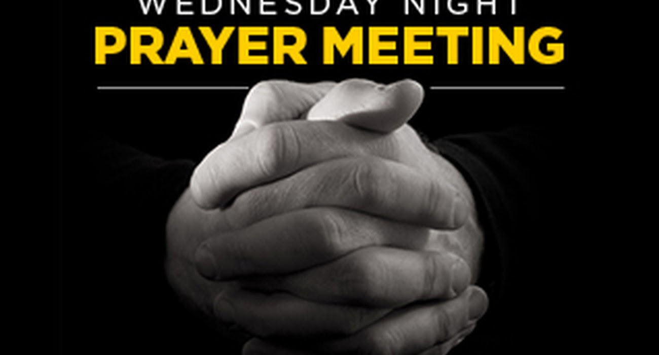 Wednesday Night Prayer Meeting Waltham Seventh Day Adventist Church