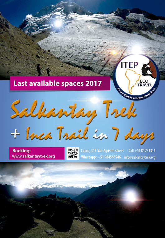 Salkantay Trek + Inca Trail in 7 days