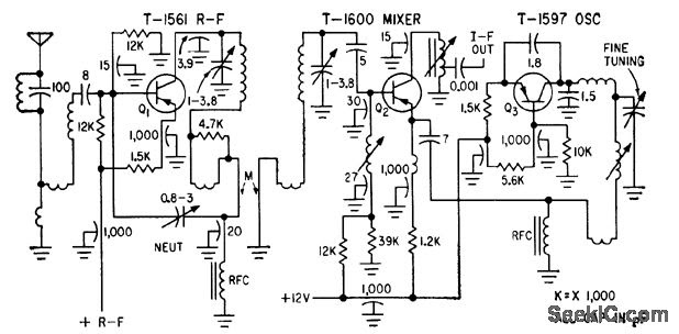 Tv Tuner Circuit Diagram
