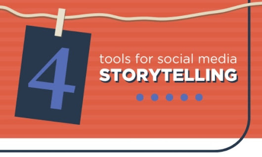 4 Tools for Social Media Storytelling [Infographic]