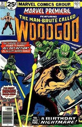 The Man Brute called Woodgod