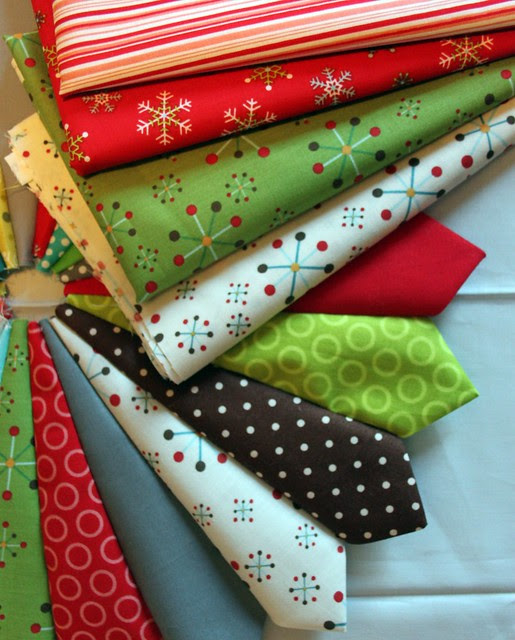 Colorful Christmas Sewing