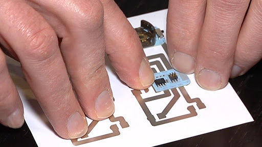Microsoft uses conductive inks to make a home inkjet printer print circuit boards onto photo paper - News