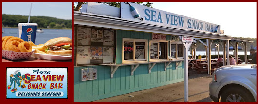 Sea View Snack Bar is a Snack Bar with Fresh Seafood, Soups and Sandwiches in Mystic, CT