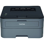 Brother HLL2320D Compact Single-Function Monochrome Laser Printer with Duplex