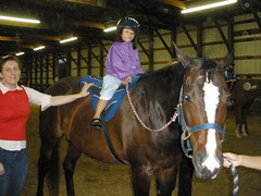 Olivia at Courage Riders