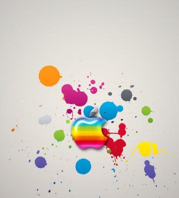 IPhone Wallpaper - Apple Colors Iphone 4 Wallpaper