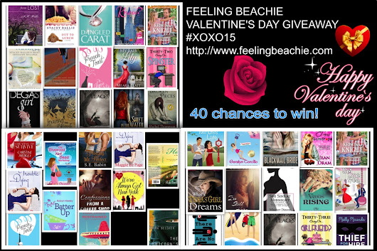 Valentine's Day MASSIVE book Giveaway