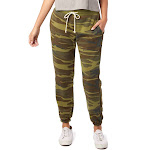 Alternative Women's Eco Fleece Classic Sweatpants 9902 - Camo