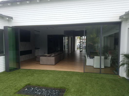 2018 Most Innovative, Most Energy Efficient and Slimmest Folding Doors on the Market Today.