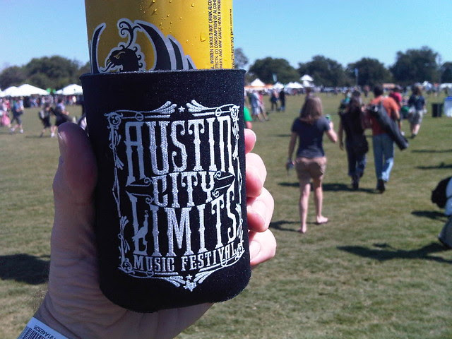 Imperial beer at the ACL