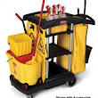 Rubbermaid 9T72 High Capacity Cleaning Cart
