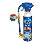 FJC FJ525 R134A Polar Ice and Leak Sealer 19oz Can with Tap