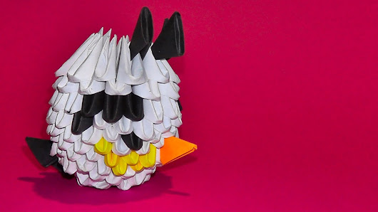 Arthur 3D origami - Google+ - photo#11