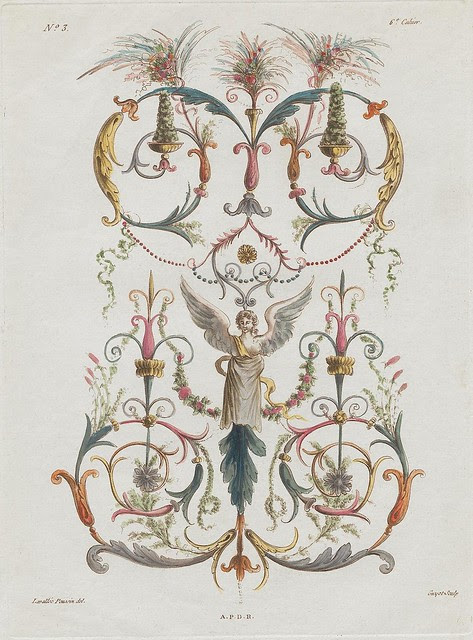Nouvelle collection d'arabesques, 1810 d