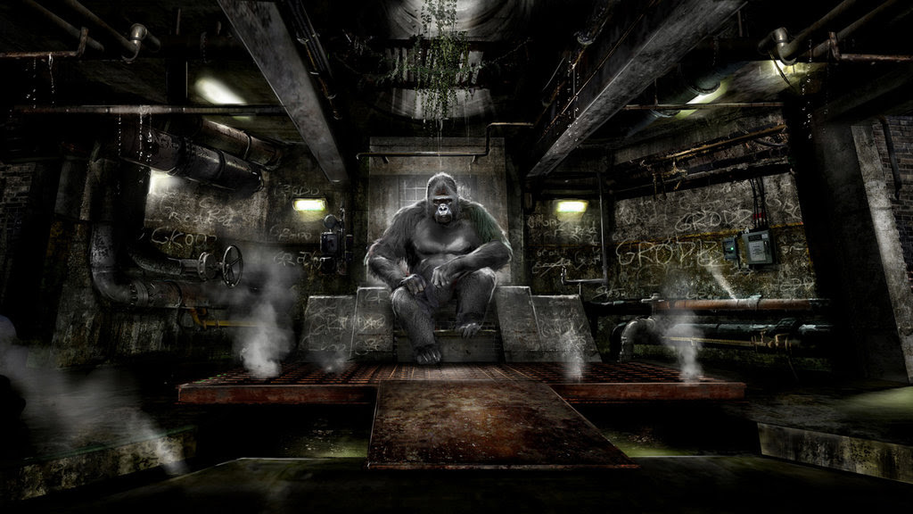 This Grodd Concept Art For The Flash Is Bananas